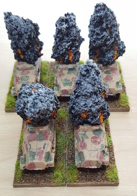 Late war Sd.Kfz. 251 smoke markers