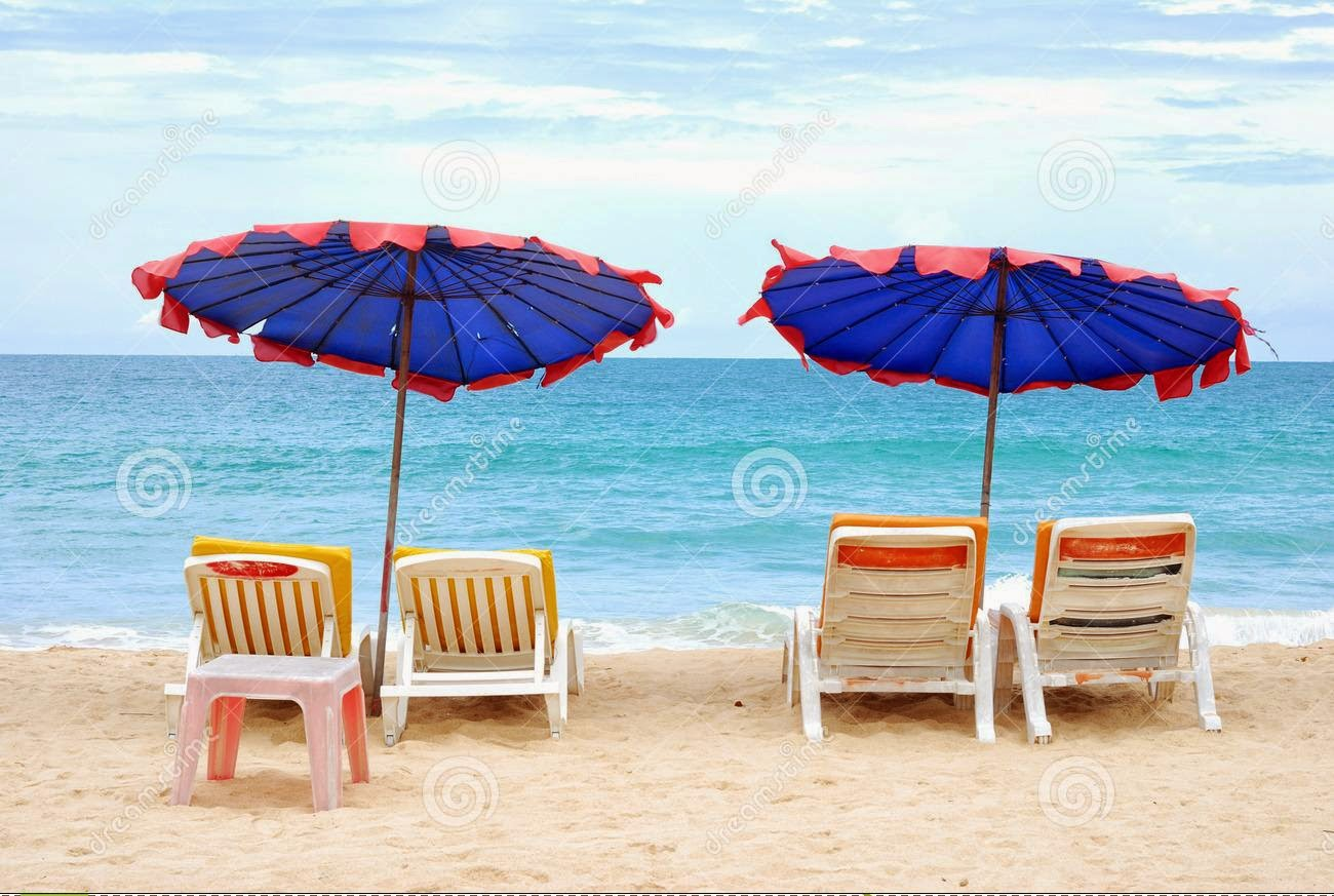 Summer-beach Chair Wallpapers HD