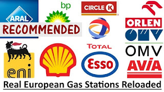 Real European Gas Stations Reloaded