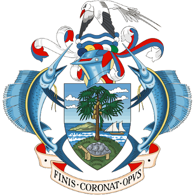 Coat of arms - Flags - Emblem - Logo Gambar Lambang, Simbol, Bendera Negara Seychelles