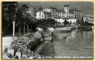 Savoy Palace Hotel, Gardaseem 1908