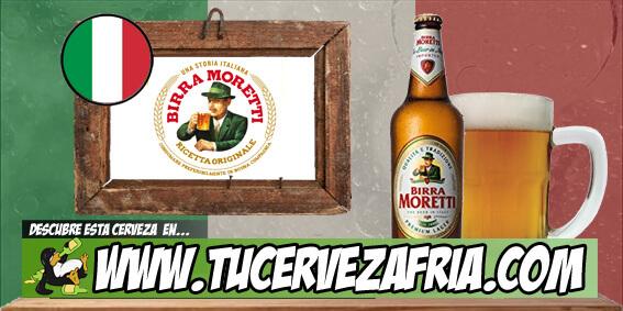 Cerveza BIRRA MORETTI