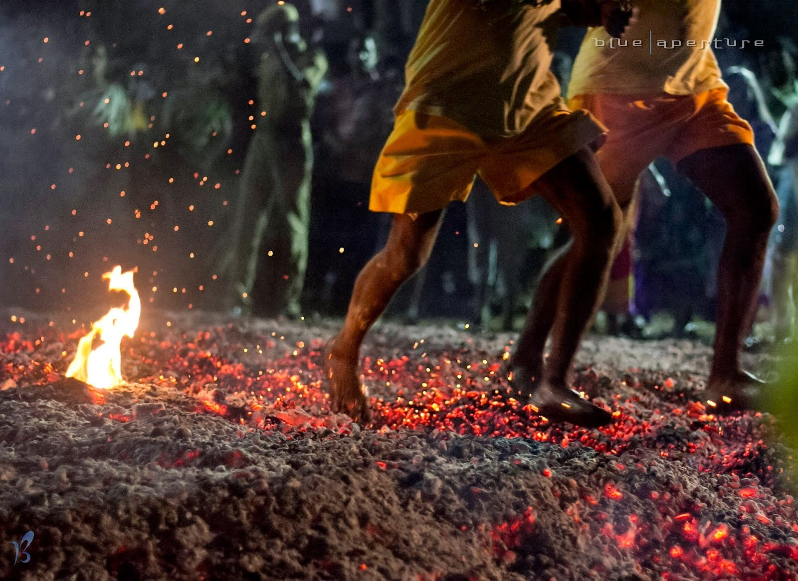 fire walking a strange hindu festival navrang india