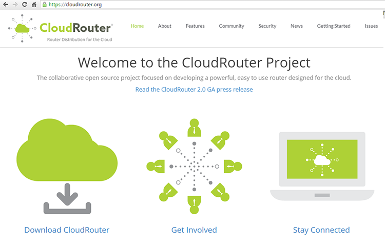CloudRouter Project Clears Release 3 0 Hurdle ~ Converge! Network Digest