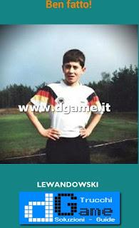 Soluzioni Guess the child footballer livello 22