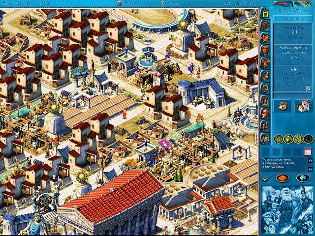 Ciudad construida ende Zeus + Poseidon
