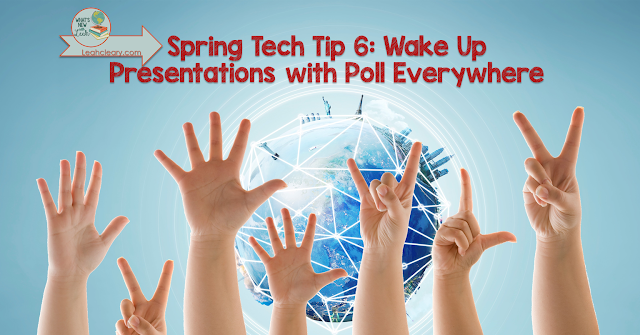 Even at the end of the school year, sometimes a lecture can't be avoided in the secondary classroom. However, you can make that lecture more interesting and engaging by using Poll Everywhere. I give a quick tutorial about how to use Poll Everywhere in this blog post.
