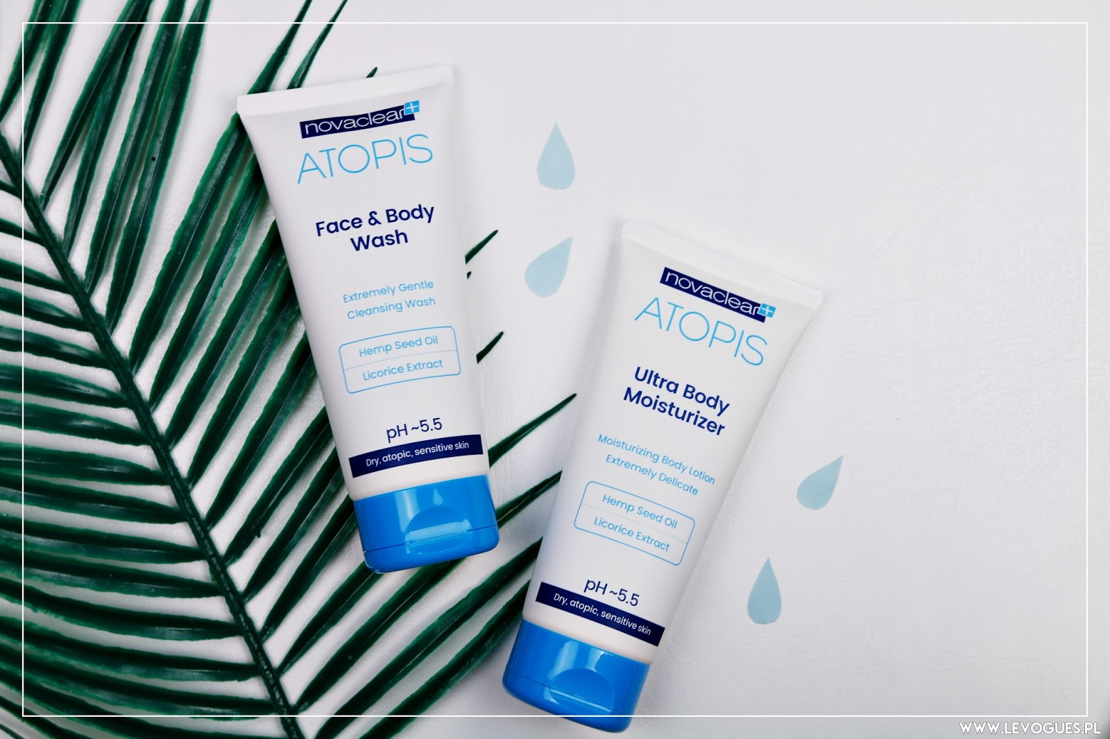 Novaclear Atopis Face & body wash Ultra body moisturizer