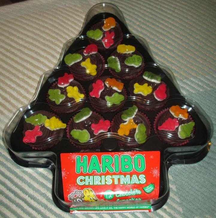 Foodstuff Finds Haribo Christmas Chocolate Cupcakes And