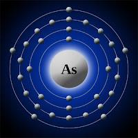 Arsenik atomu elektron modeli