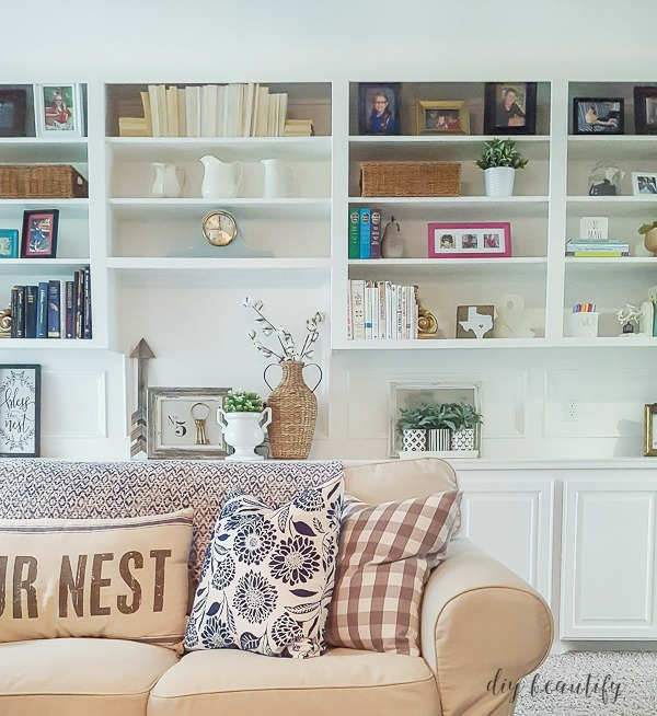 The Right Paint for Cabinets and Bookcases | DIY beautify