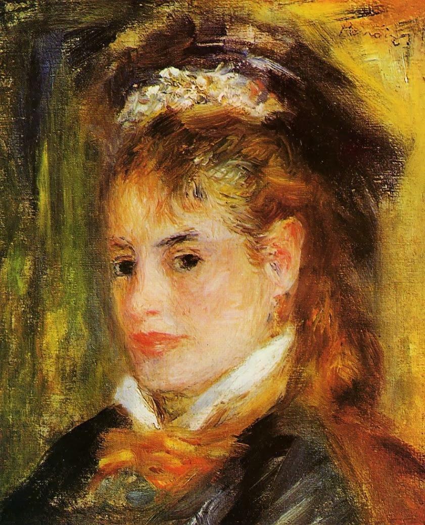 Solitary Dog Sculptor I: Painter: Renoir Pierre-Auguste ...