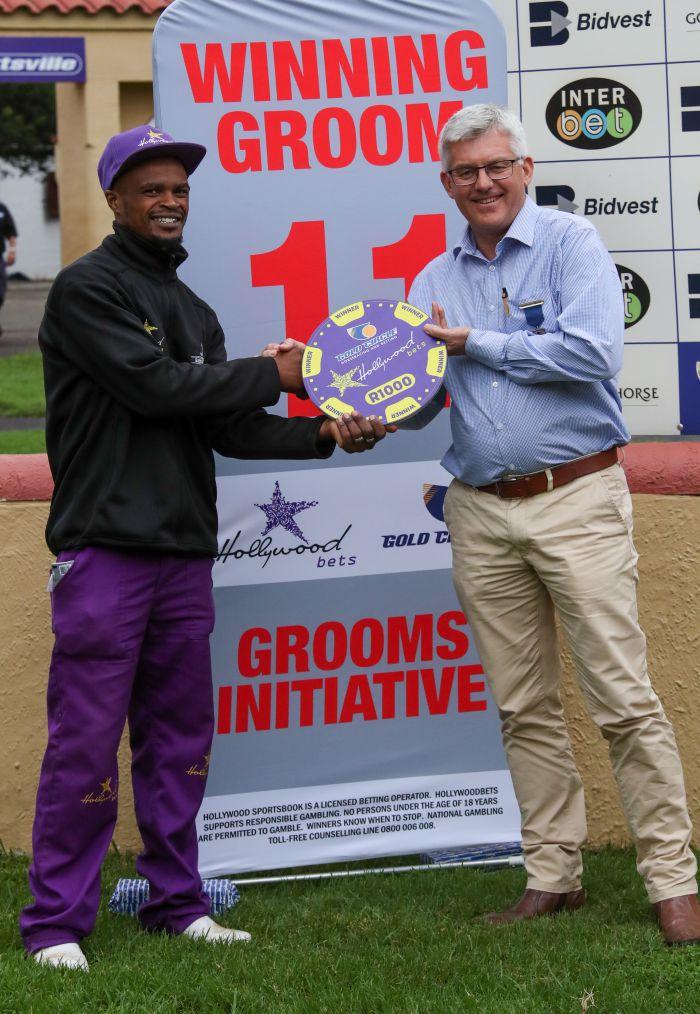 Grooms Initiative Winner - 22nd December 2019 - Race 6 - Siyavuya Mbheduka - SHEIK'S STORM