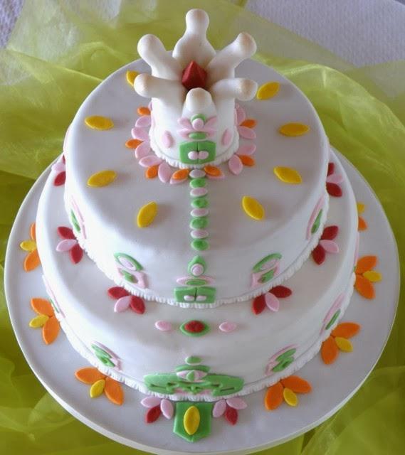 Prinzessinnen Torte, Motivtorte Prinzessinnen Schloss