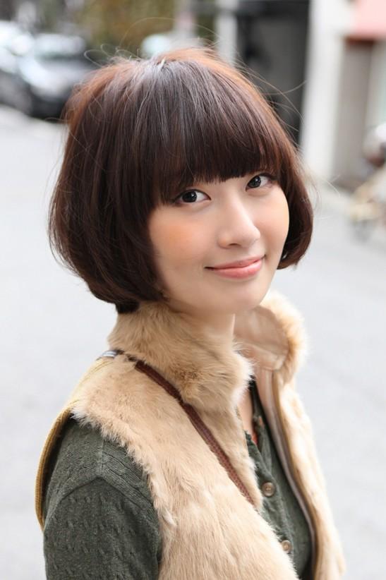 Model Rambut Bob Pendek Korea 2014 | trend busana 2014