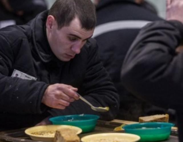 Меню для украинских заключенных: стали известны подробности