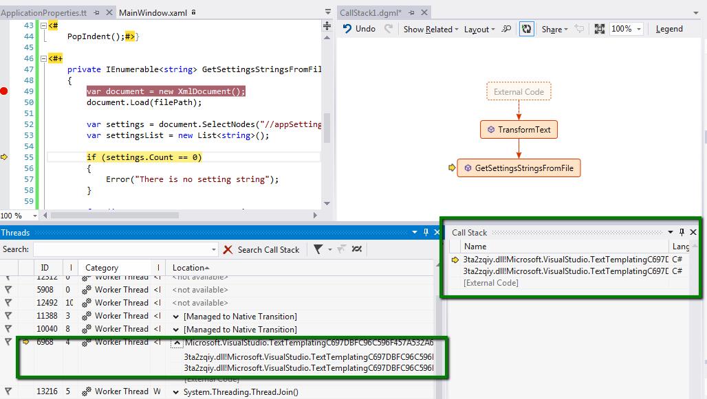 Muhammad Shujaat Siddiqi: Visual Studio 2012 - Debug T4 Template