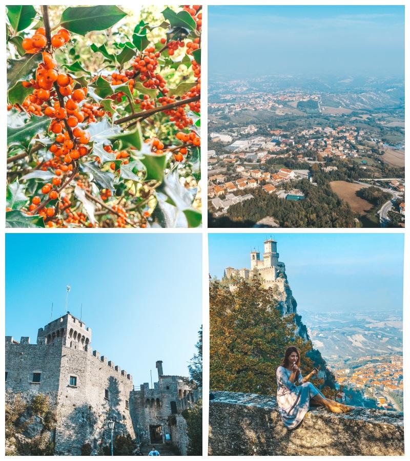 san marino zamek castle blog podróże