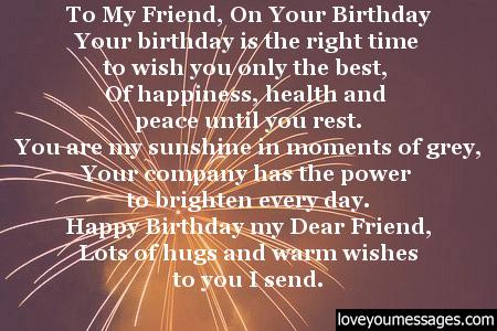 Happy Birthday To My Best Guy Friend Letter | mamiihondenk org