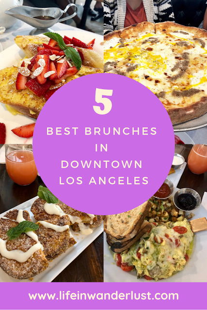 5 Best Brunches in Downtown Los Angeles
