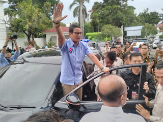 Sandiago Uno Datang ke Cirebon Namun Di Tolak Datang Ke buntet