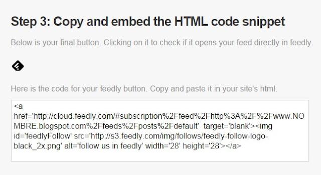 Último paso: Código para insertar