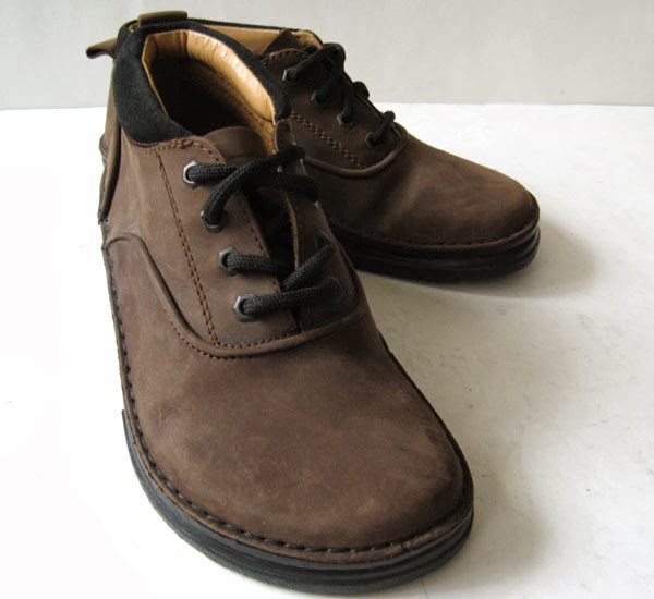 Birkenstock Footprints Brown Leather Ankle Boots Womens