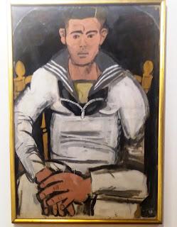 το έργο Ναύτης του Γιάννη Τσαρούχη στην Εθνική Πινακοθήκη