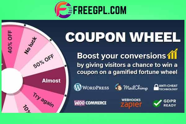 Coupon Wheel For WooCommerce and WordPress Free Download