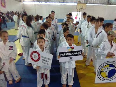 Judô de Pariquera conquista 18 medalhas no Campeonato Regional