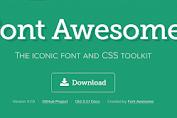 Cara memasang Font Awesome pada Blog