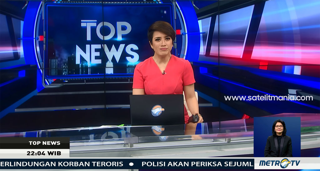 Frekuensi Terbaru Channel Metro TV HD di Satelit Palapa D