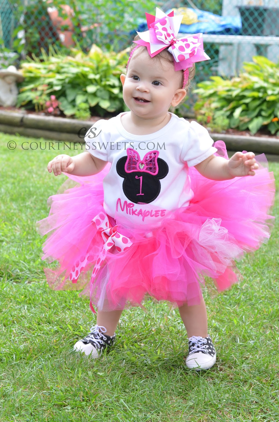 Minnie Mouse Birthday Tutu Set Courtney S Sweets