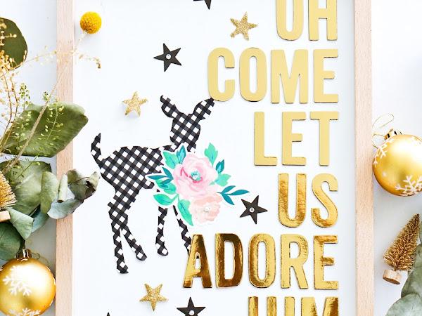 Maggie Holmes Design Team : Adore Him