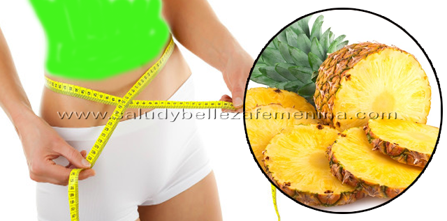 Dieta de la Piña, la piña es una fruta perfecta para combatir el sobrepeso, es idónea para eliminar los depósitos de grasa y separar el tejido celulítico.