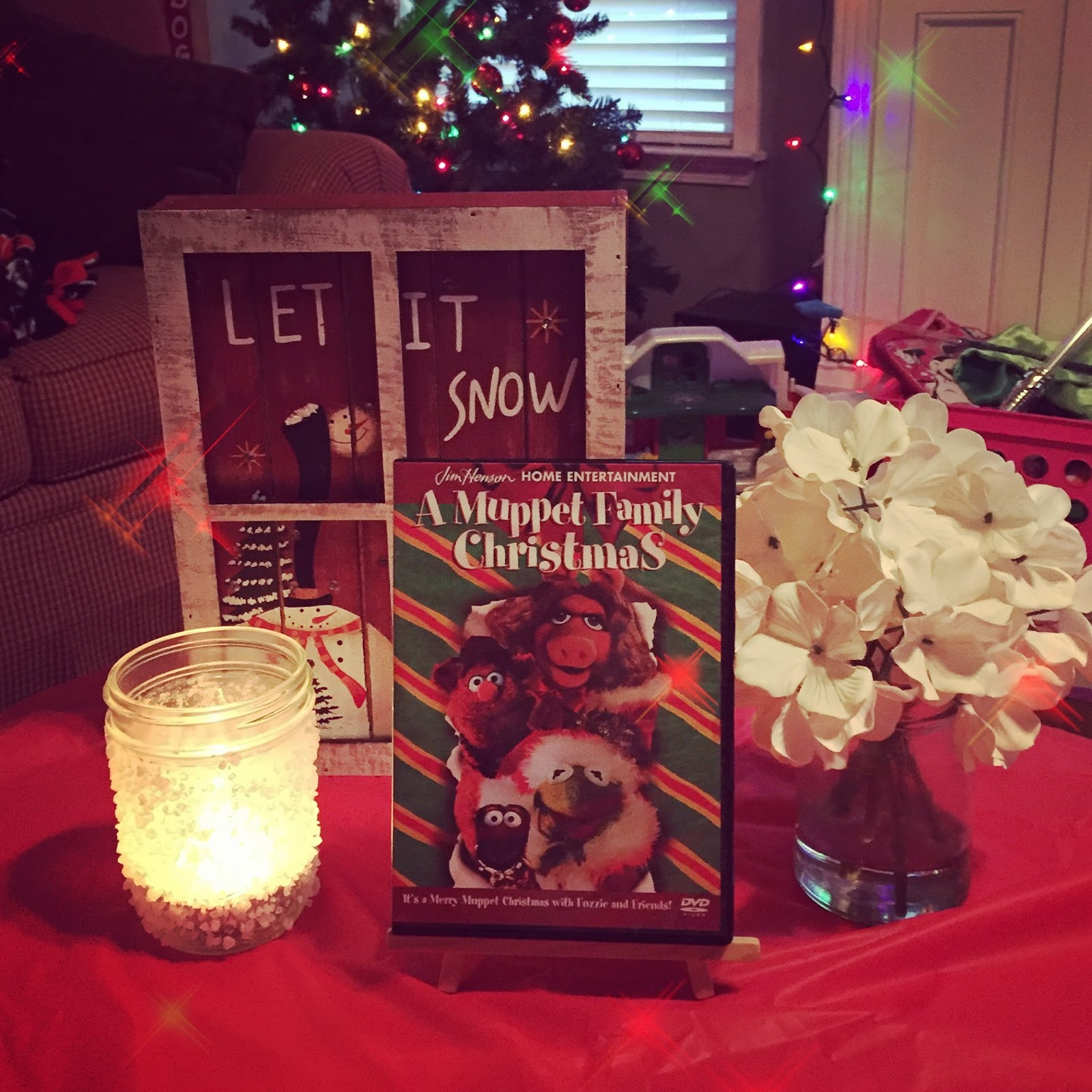 WellYellowThere: A Muppet Family Christmas Movie Night & The Candy Store