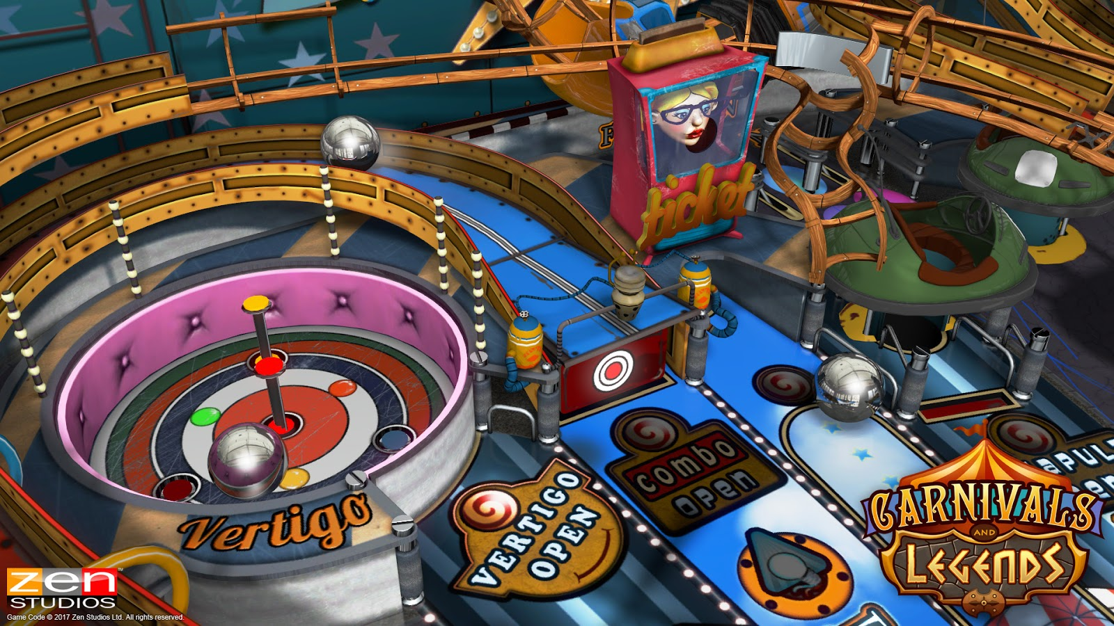 Pinball FX3: Carnivals & Legends - Switch Review | Chalgyr's Game Room
