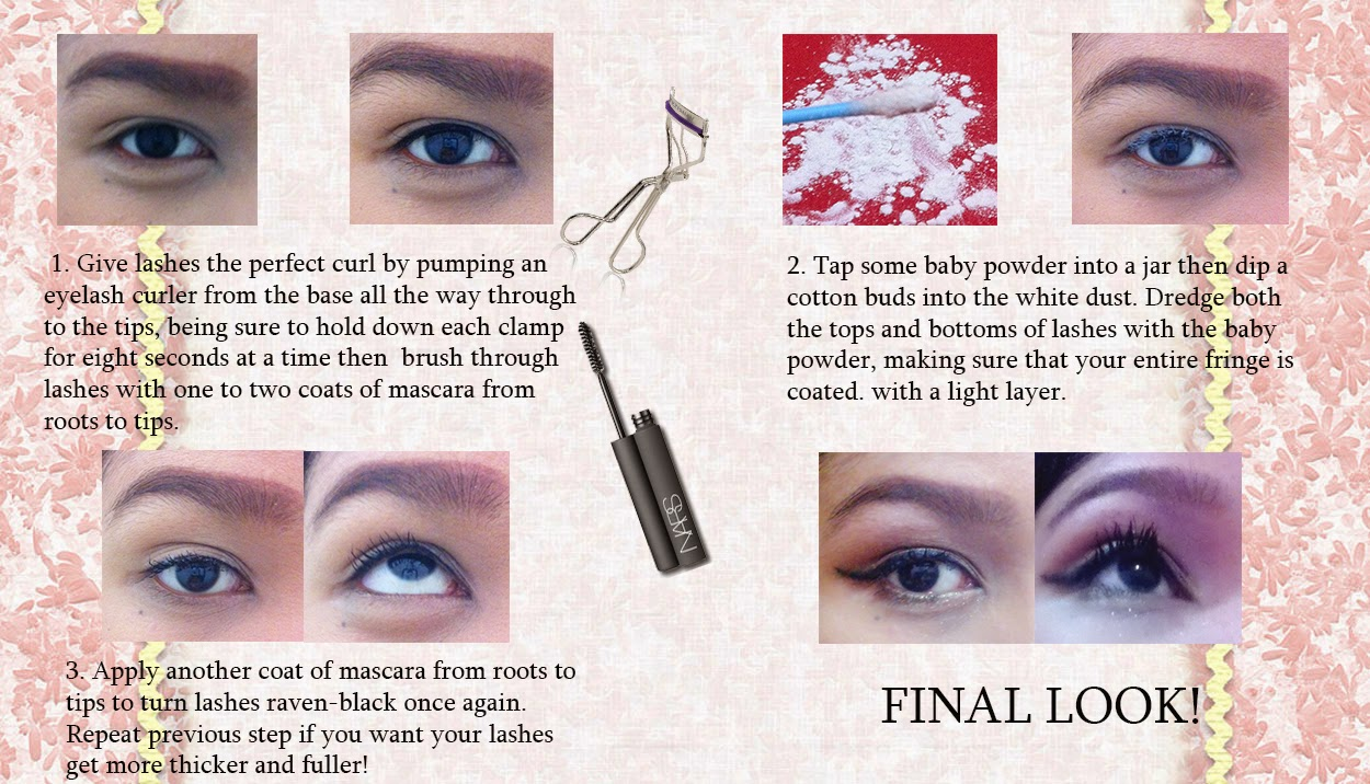 HOW TO GET FAUX-LOOKING LASHES WITHOUT USING FALSE LASHES