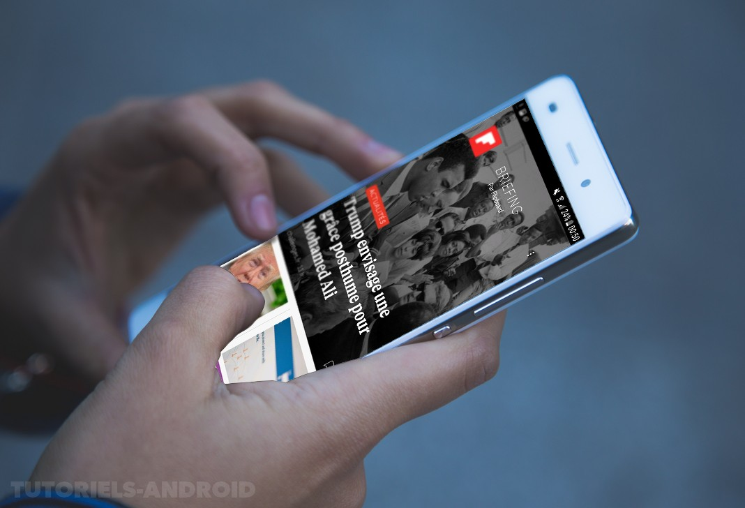 Activer ou désactiver Flipboard Briefing sur SAMSUNG