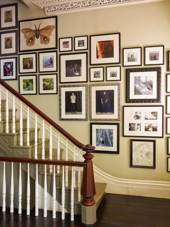 50 Creative Staircase Wall decorating ideas, art frames ... on Creative Staircase Wall Decorating Ideas  id=25764