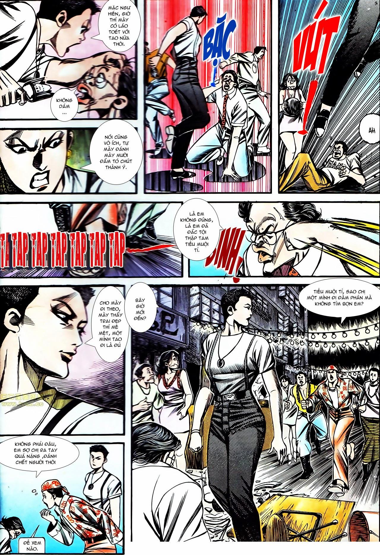 Người Trong Giang Hồ chapter 130: cô ta đến từ giang hồ trang 6
