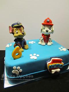 torta patrulha canina