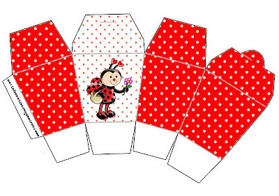 Joaninha Kit Completo Com Molduras Para Convites Rotulos Para