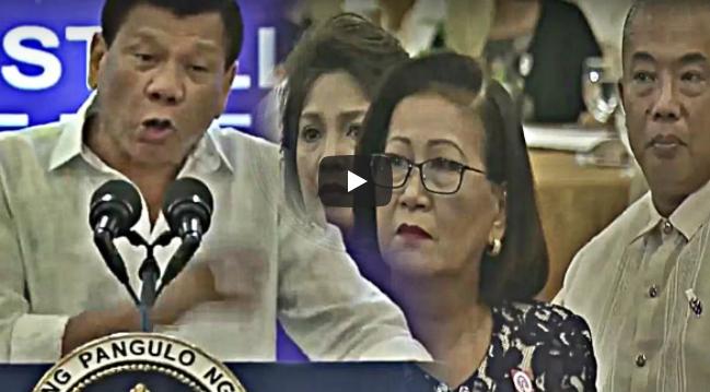 WATCH: Umusok ang Tainga ni Duterte, Isinawalat ang Plano ng mga LP na Palitan Siya sa Pwesto
