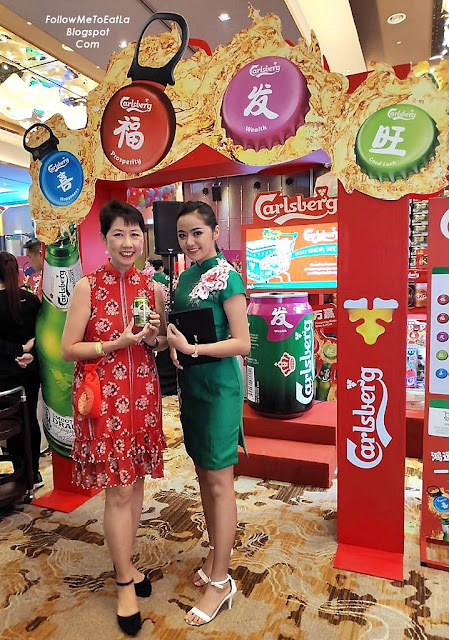 Better Luck Next Time, I Didn't The RM 800 Groceries But A Can Of Somersby At The 'POP' A Gaint Carlsberg Smooth Draught Booth
