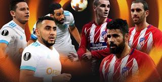 مشاهدة مباراة أتليتيكو مدريد ضد مارسيليا في نهائي الدوري الأوروبي 16-05-2018