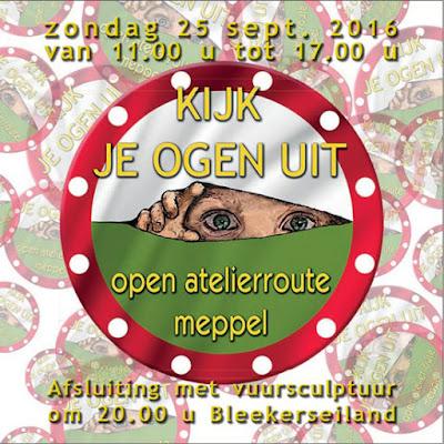 Brochure Kijk Je Ogen Uit-Open Atelierroute 2016