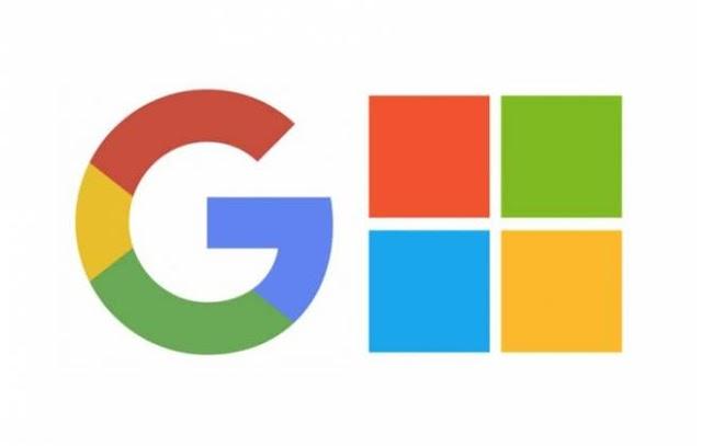 Google e Microsoft fazem as pazes e removem processos de uma contra a outra