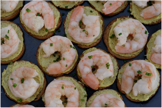 Shrimp curry butter canap s a virtual mad men dinner for Canape cookbook