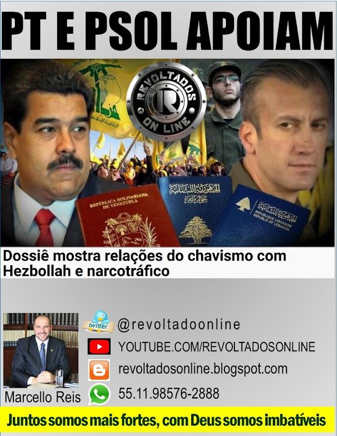 🔴 VEJA O ABSURDO | Relação Chavismo, Hezbollah, narcotráfico e Monica Bérgamo, Folha de São Paulo ainda apoiam Nícolas Maduro